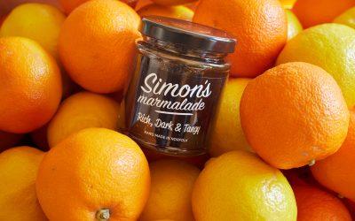 Simon's Marmalade arrives in 2 London Deli's