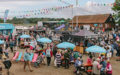 We will be at the Aldeburgh Food & Drink Festival 2019
