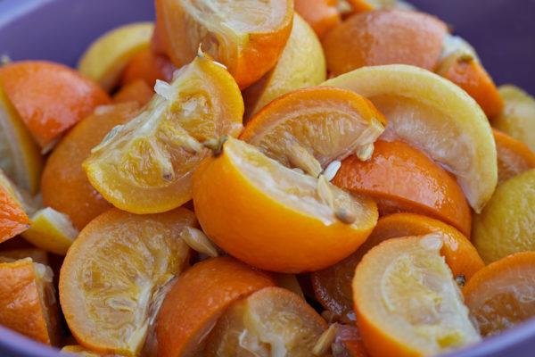 Marmalade ingredients