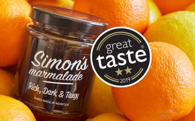 2 Star Great Taste Award for Simon's Rich, Dark and Tangy Marmalade
