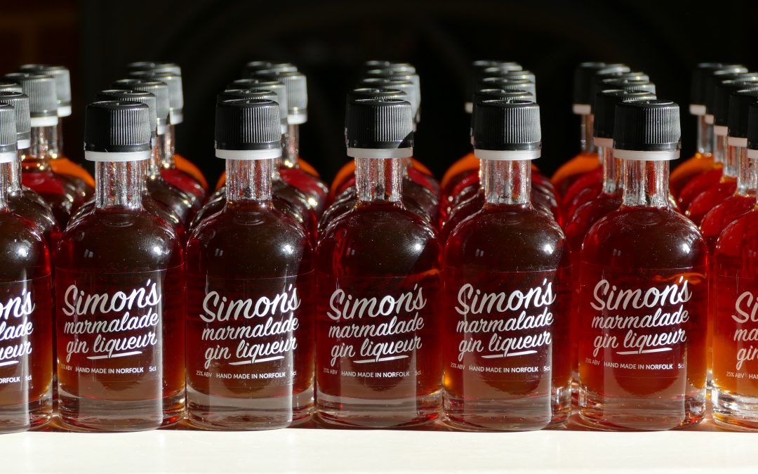 5cl Simon's Marmalade Gin Liqueur added to Simon's Table!