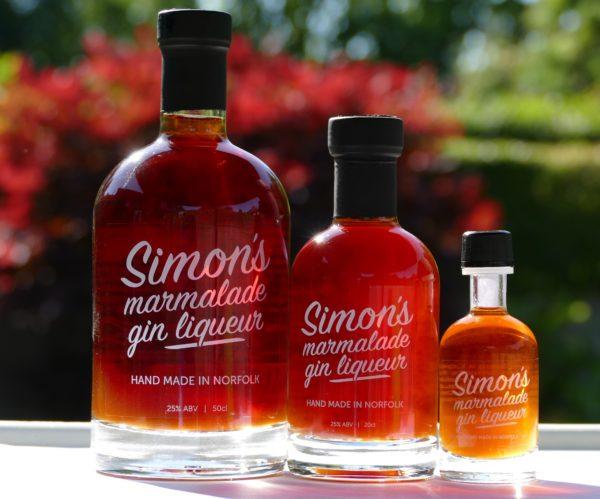 Simon's Marmalade Gin Liqueur 50cl, 20cl & 5cl