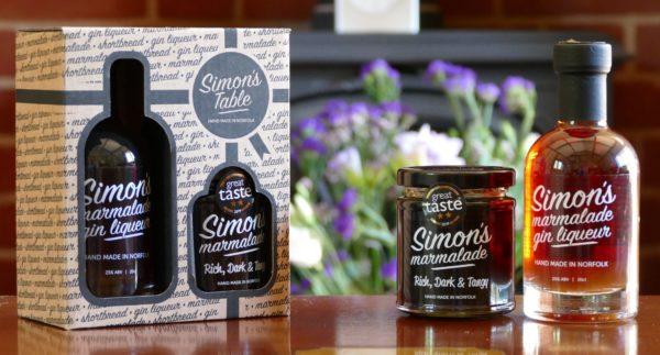 Simon's Gift Pack with 227g Simon's Marmalade & 20cl Simon's Marmalade Gin Liqueur