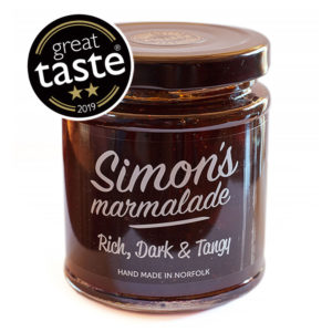 Simon's Marmalade made by Simon's Table, Norfolk