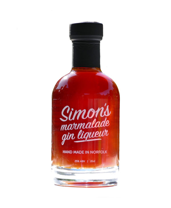 20cl Simon's Marmalade Gin Liqueur