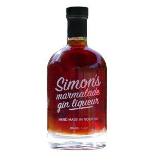 50cl Simon's Marmalade Gin Liqueur