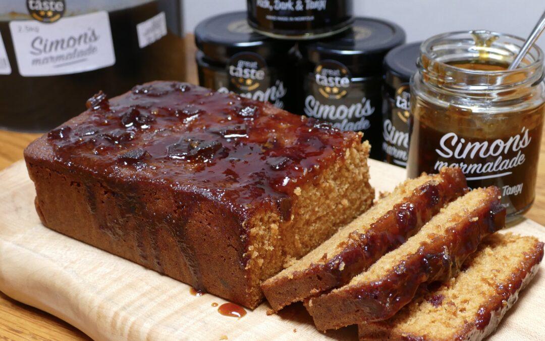 Simon's Marmalade Cake Hand Made in Norfolk
