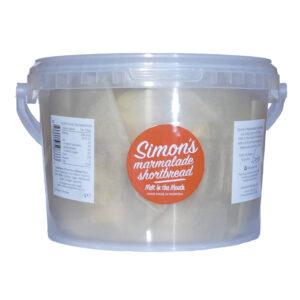 Simon's Marmalade Shortbread 850g