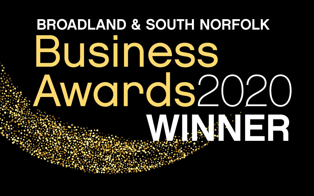 Broadland & South Norfolk New Business Award Winner 2020