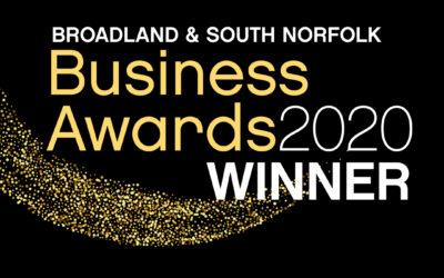 Broadland & South Norfolk New Business Award Winner 2020