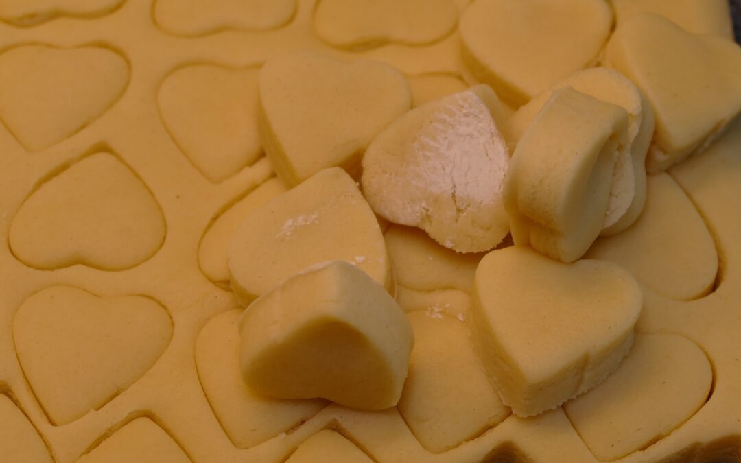 Shortbread Hearts are here for Valentine's Day and Mother's Day.