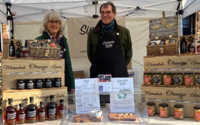 March sees our return to Farmers' Markets