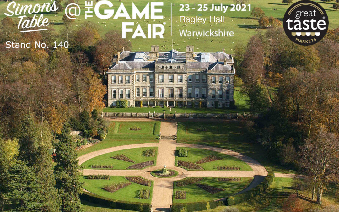 Simon's Table is at the Game Fair!