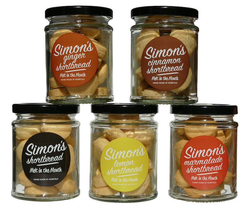 New flavours have been added to Simon's Shortbread range.